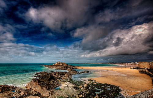 city sky panorama france beach clouds landscape brittany europe saintmalo riccardo mantero afsnikkor1635mmf4gedvr potd:country=it fortnatinal