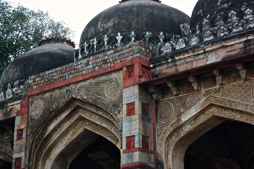 Architecture details in the Lodi gardens