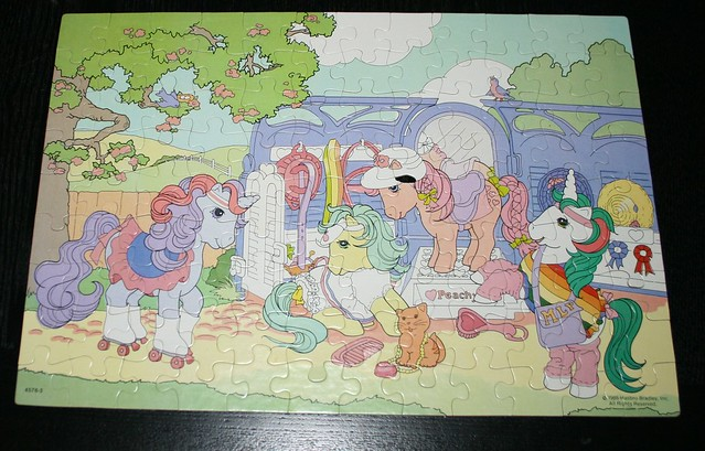 My Little Pony Jigsaw puzzle (1985) - The Beauty Parlour