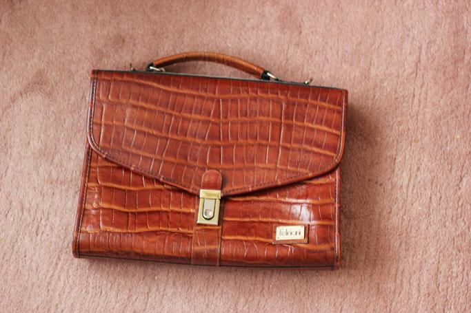 Vintage tasche- vintage bag satchel