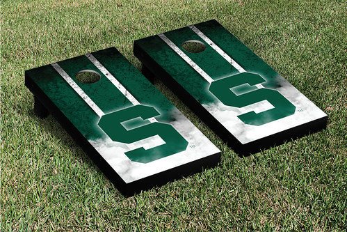Michigan State Spartans Cornhole Game Set Vintage S