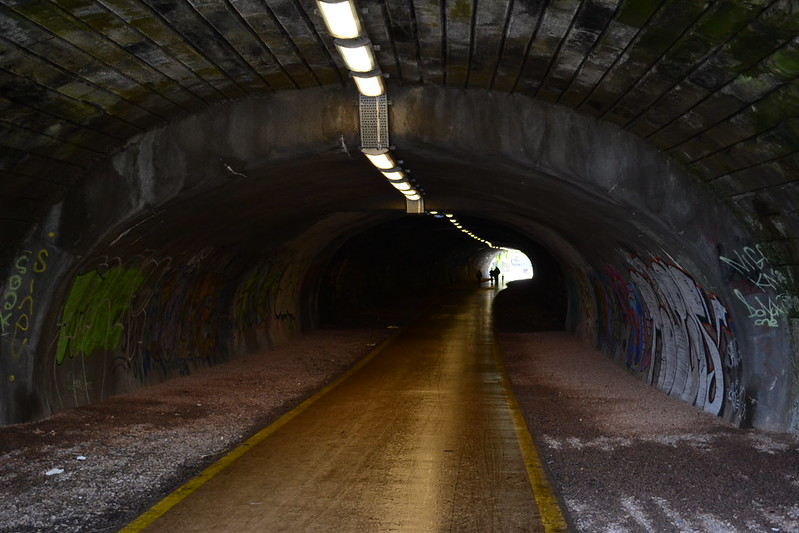 Inside Rodney Street Tunnel