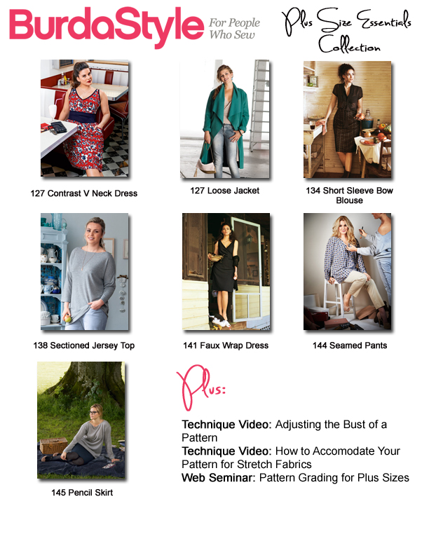 Plus Size Essentials Table of Contents