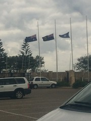 Flags at half mast in tribute to those lost on MH17