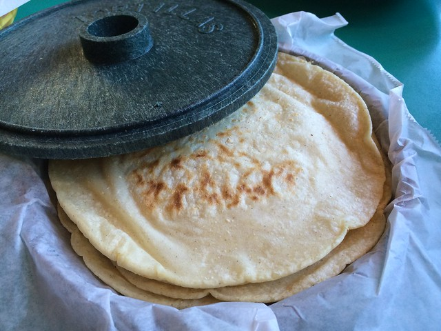 Warm tortillas - San Jalisco