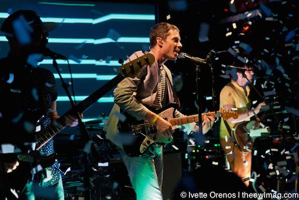 OK GO @ Troubadour, LA 7/22/14