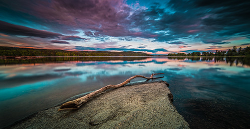 sunset sky lake color water oslo norway clouds forest evening nikon horizon surface le d800 maridalen 14mm samyang maridalsvannet