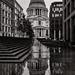 St Paul's in the Rain by Otto Berkeley