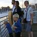 Family at Santa Cruz harbor in evening by David_and_Marilyn_King