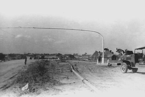 Bent Flagpole