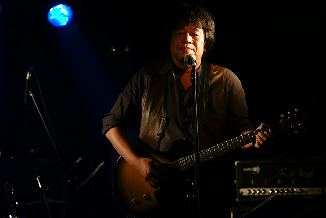 CABU live at 獅子王, Tokyo, 27 Jul 2014. 011
