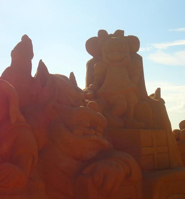 Sculpures sur sable Disney - News Touquet p.1 ! 14770205939_42b9237e30_z