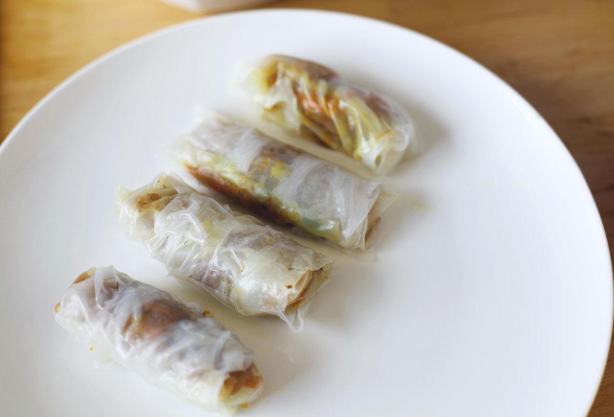 Vegan Gluten-Free Spring Rolls