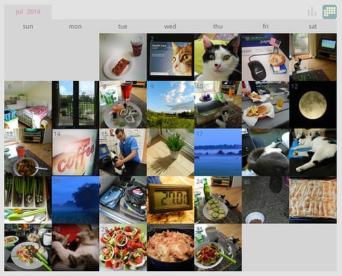 My ShutterCal - July 2014