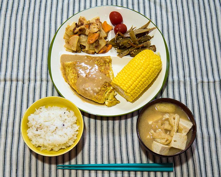2014年8月6日の晩ご飯