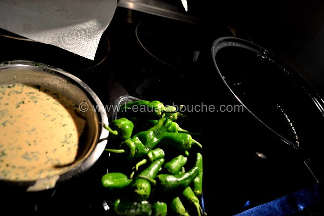 Tempoura ou Beignets de Pimientos del Padron © Ana Luthi Tous droits réservés 010