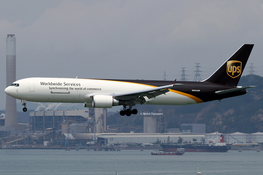N354UP - B763 - UPS Airlines