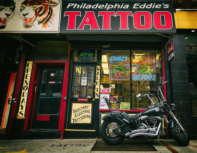 Philadelphia eddie 39 s tattoo flickr photo sharing for Eddies tattoos philadelphia