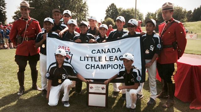 South Vancouver Little League 2014 Canada Little League Champions