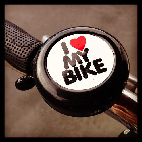 I've missed Daisy! #bikecommuting #velolove