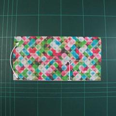 วิธีพับกล่องของขวัญแบบมีฝาปิด (Origami Present Box With Lid) 003