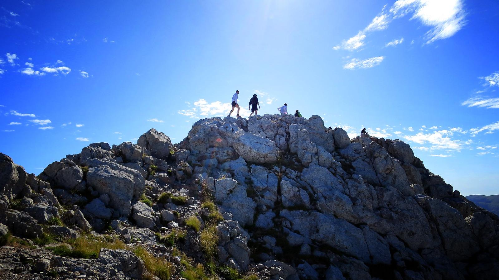 Pedraforca: Mirador Gresolet - Collada del Verdet - Pedraforca - Tartera de Saldes