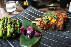 Pork Belly & Asparagus, Shibui Robata Grill,To…