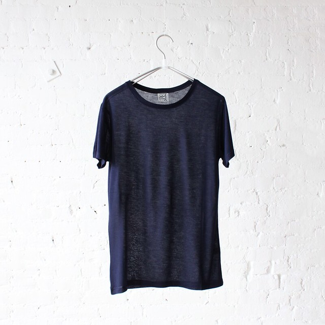 base range tee navy