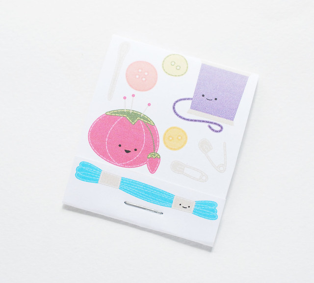 Printable Matchbook Style Needle Books