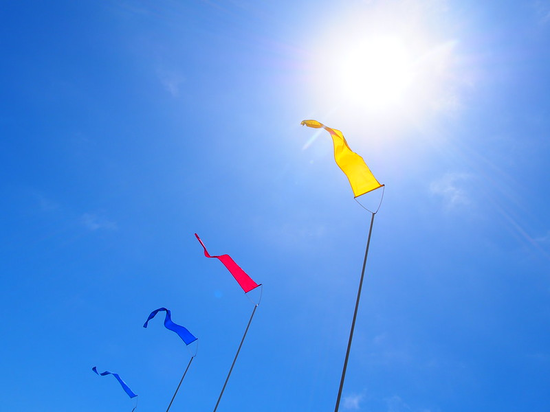 Colorful Flags