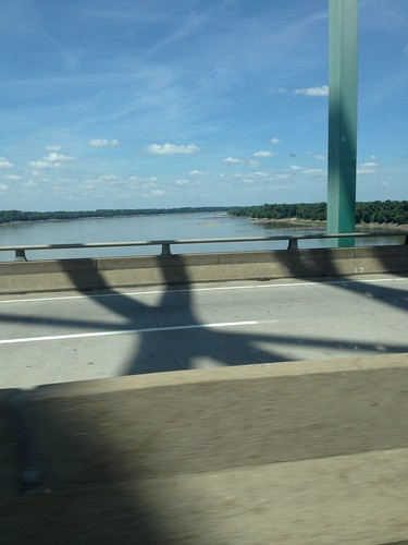 river illinois crossing cairo mississippiriver traveling