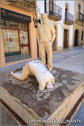 Escultura, Escena 3. Plasencia