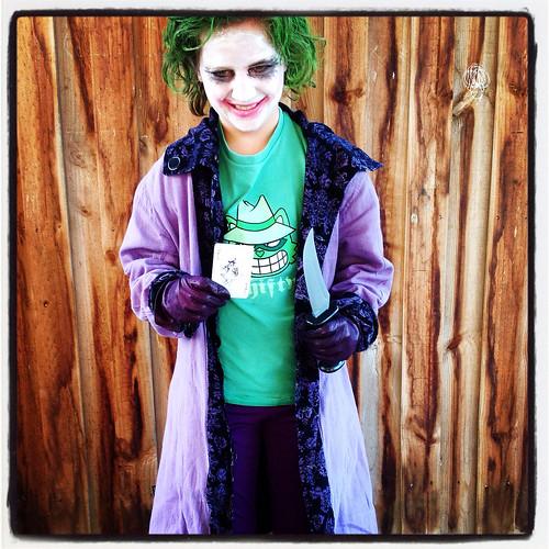 The Joker for Bookweek 2014