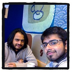 With Adil Memon - School Mate #bestfriend #starbucks #coffee #trend #uk #manchester #visit #old #happydays #longhair #morning
