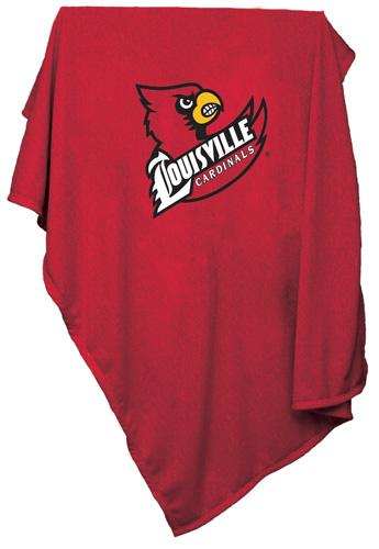 Louisville Cardinals NCAA Sweatshirt Blanket