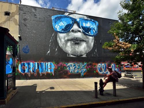 newyorkcity streetart art graffiti manhattan aerosolart streetscenes damienmitchell