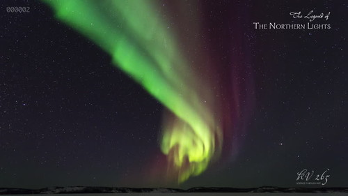 """The Legend of the Northern Lights"" footage sample"