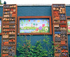 A Bug Hotel And Mural In Twickenham - London.