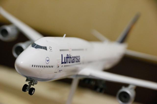 Lufthansa 747-8i D-ABYC Sachsen 模型 1:200