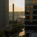 Morning over RJR smoke stack by UrbanMez