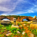 Arches and sky by Rick Gravelle