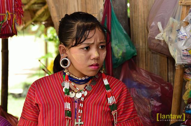 Kayaw girl