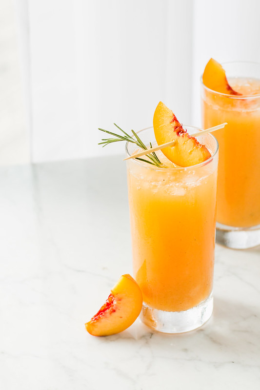 Peach & Rosemary Prosecco