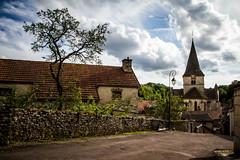 Aignay le duc (Arbre et Eglise)