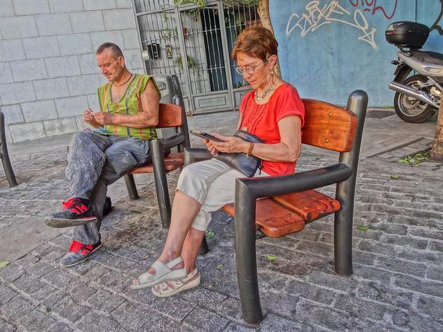 Madrid, street life