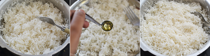 How to cook basmati rice in pressure cooker - Step4