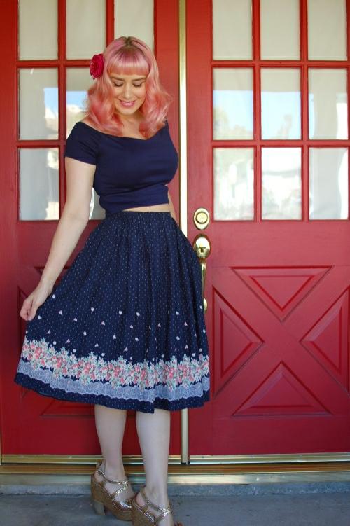 Sidecca Floral Skirt 006