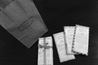 Dandelion Chocolates - Tasting purchase