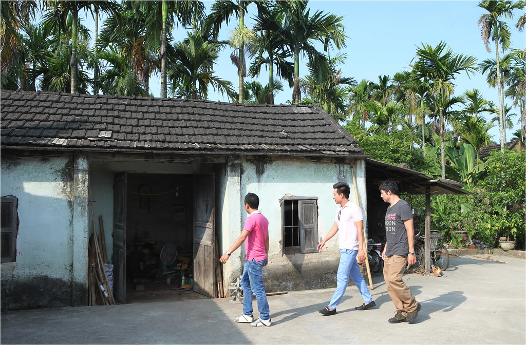 EcoFly Team thăm nhà chú Đỗ Đăng Hải