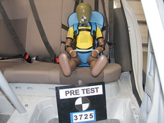 Illegal car seat - pre-test
